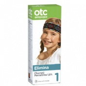 Otc antipiojos permetrina 1,5% champu - antipiojos (125 ml)