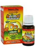 Animal parade vitamina d 3 gotas 10 ml