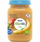 Nestle naturnes bio manzana y platano (190 g)