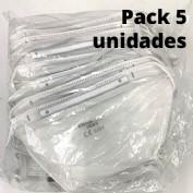 Pack de 5 unidades Mascarillas ffp3