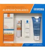 Pack rostro alergias solares - antialergias La Roche Posay Anthelios
