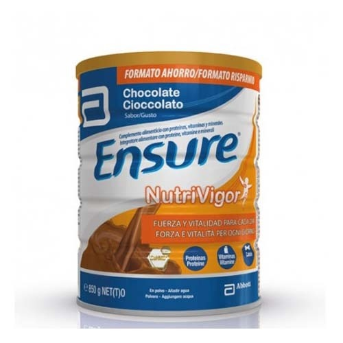 Ensure nutrivigor chocolate (lata 850 g)