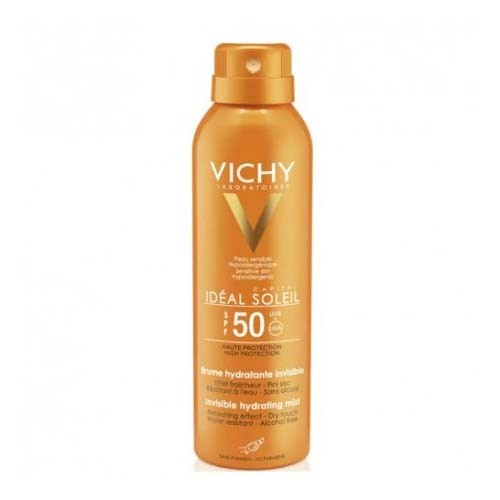 Capital soleil spf 50 hydra espuma transp hidrat - tacto seco alta proteccion (spray 200 ml)