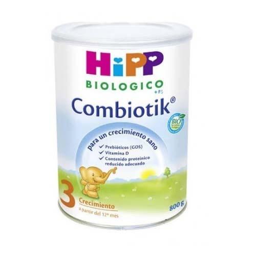 Hipp combiotik 3 leche de crecimiento (800 g)