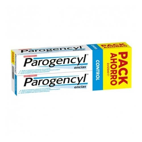 PAROGENCYL CONTROL PASTA DENTAL (125 ML 2 U)