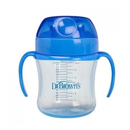 TAZA EDUCATIVA - DR BROWN´S NATURAL FLOW (+ 6 M 170 ML)