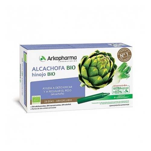 Alcachofa e hinojo arko (20 ampollas)