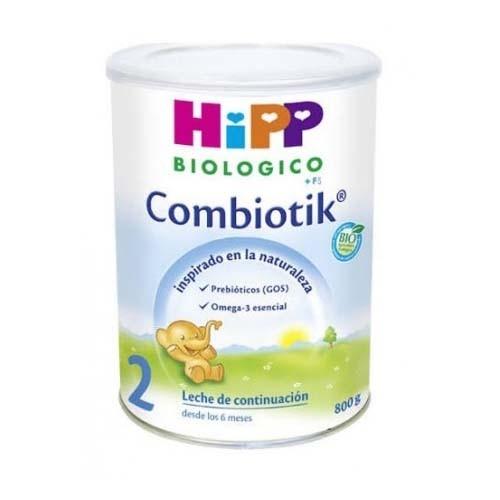 Hipp bio combiotik 2 leche de continuación (800 g)