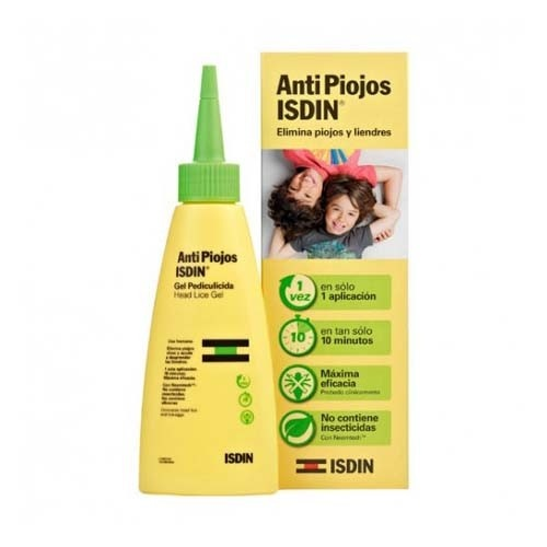 Isdin antipiojos gel (100 ml)