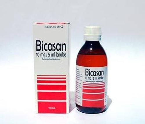 BICASAN 2 mg /ml JARABE, 1 frasco de 250 ml