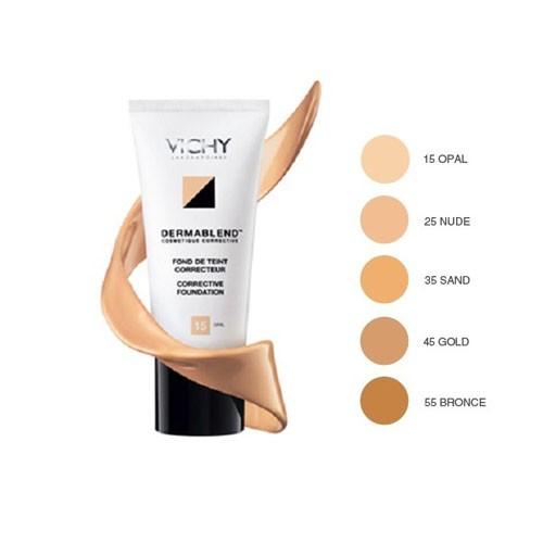 Vichy Dermablend fondo de maquillaje corrector (30 ml 45 gold)