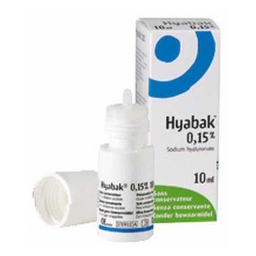 Hyabak colirio  (10 ml)