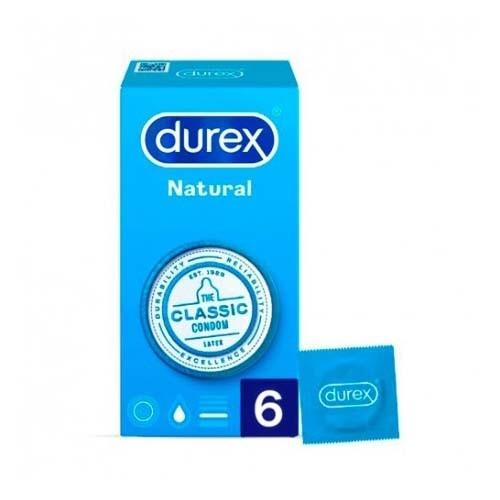 Durex natural plus (6 preservativos)