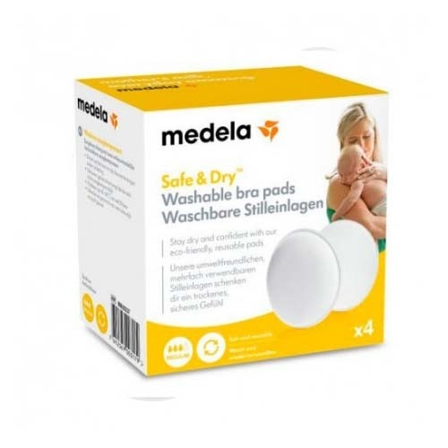 Medela Discos absorbentes lavables (4 u)
