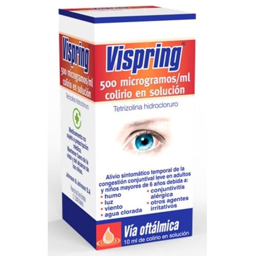 VISPRING 500 microgramos/ml COLIRIO EN SOLUCION, 1 frasco de 15 ml