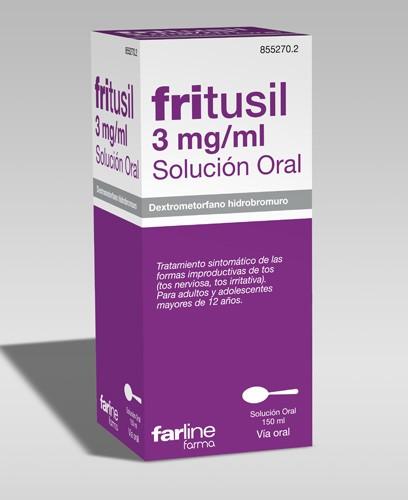 FRITUSIL 3 mg/ml SOLUCION ORAL , 1 frasco de 150 ml