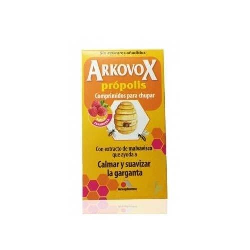Arkovox propolis vitamina c  (24 comprimidos masticables sabor frambuesa)