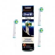 Cepillo de dientes electrico recargable oral-b 3d white (3 u (eb18-3))