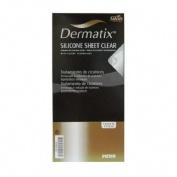 Dermatix lamina - silicona (clear 4 x 13 cm)