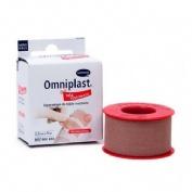 Esparadrapo hipoalergico - omniplast (tejido resistente 5 m x 2,50 cm)