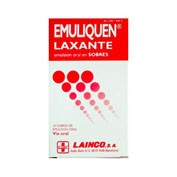 EMULIQUEN LAXANTE 7.173,9 mg/4,5 mg EMULSION ORAL EN SOBRES , 10 sobres