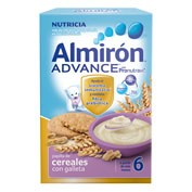 Almiron cereales con galletas advance (500 g)