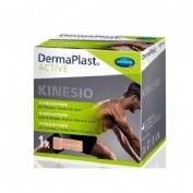 Cinta kinesiologica - dermaplast active (1 unidad 5 m x 5 cm color beige)
