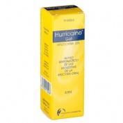 HURRICAINE  200 mg/g GEL BUCAL , 1 tubo de 6 ml