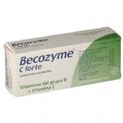 BECOZYME C FORTE COMPRIMIDOS RECUBIERTOS  , 30 comprimidos