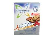 Barrita energetica Diabalance expert active (6u)(cereales con chocolate y frutos rojos)