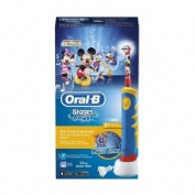 Cepillo dental electrico recargable infantil - oral-b stages (mickey +3 años suave)