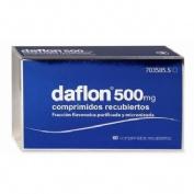 DAFLON  500mg  comprimidos recubiertos 60 comprimidos recubiertos