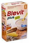 Blevit plus superfibra 8 cereales y miel (300 g)