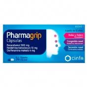 PHARMAGRIP CAPSULAS , 14 cápsulas