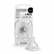 Tetina silicona boca ancha (ba) - suavinex papilla (0 meses 2 u)