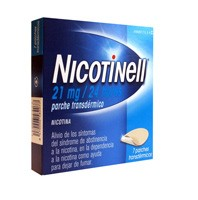 NICOTINELL 21 MG/24 HORAS PARCHE TRANSDERMICO , 7 parches