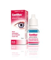 CENTILUX 0,25 mg/ml COLIRIO EN SOLUCION , 1 frasco de 10 ml