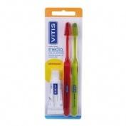Cepillo de dientes vitis access medio (2u)