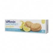 Bimanan galletas snack (limon 12 u)