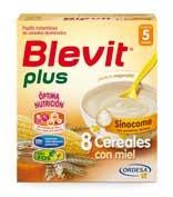 Blevit plus sinocome 8 cereales con miel (600 g)