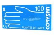 Guantes de latex - corysan (100 unidades talla grande)