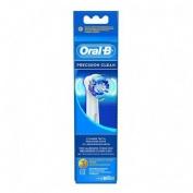 Cepillo de dientes electrico recargable oral-b precision clean recambio (eb 17-3 3 u)