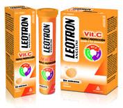 Leotron vitamina c  (18 comprimidos efervescentes)