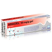 ARAGEL 50 mg/g GEL, 1 tubo de 60 g