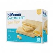 Bimanan entre horas crackers de queso (200 g 10 u)
