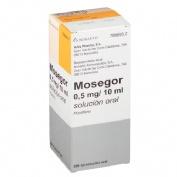 MOSEGOR 0,5 mg/10 ml SOLUCION ORAL , 1 frasco de 200 ml