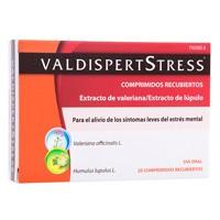 VALDISPERTSTRESS  COMPRIMIDOS RECUBIERTOS , 20 comprimidos