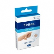 Tiritas aposito adhesivo transparente 2 tamaños