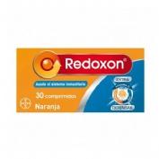 REDOXON DOBLE ACCION COMP EFERVESCENTES - VIT C + ZINC (30 COMPRIMIDOS NARANJA)