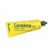CURADONA 100 mg/ml SOLUCION CUTANEA, 25 frascos de 125 ml